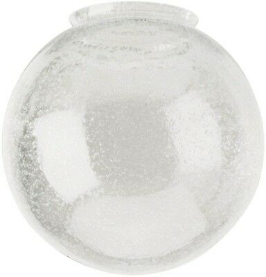 Westinghouse 6 In. Handblown Clear Seeded Globe 3-1/4 In. Fitter Globe design