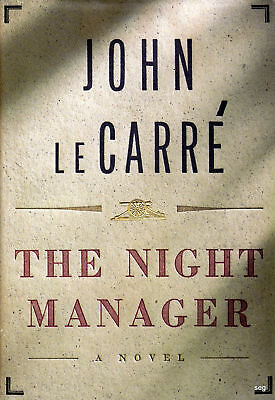 THE NIGHT MANAGER by John LeCarre * Hardcover * 1st Edition