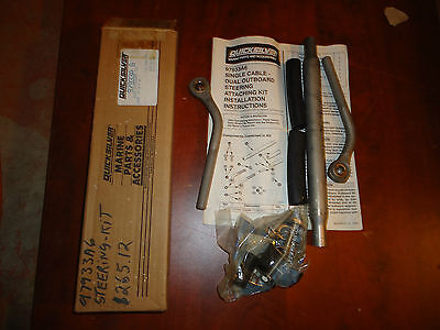 Mercury Marine Boat,dual Steering Kit ,part #97933A-6, New In Box