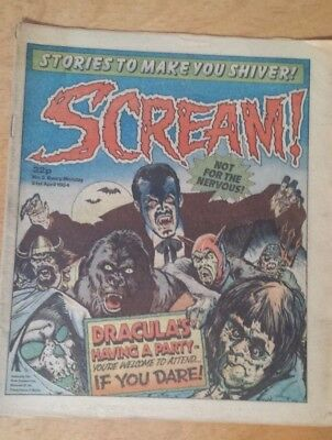 Scream Comic # 5 April 1984