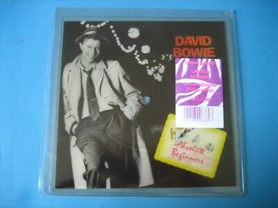 "DAVID BOWIE ""Absolute beginners"" RARE PICTURE DISC SHAPE - SHAPED"