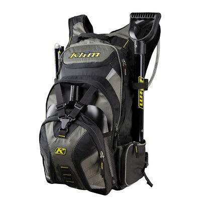 Klim Krew Pak Snowmobile Enduro Off Road Hydration Back Pack Crew Backpack