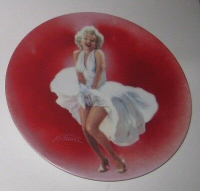 The SEVEN YEAR ITCH 1990 MARILYN MONROE Collector PLATE by BRADEX