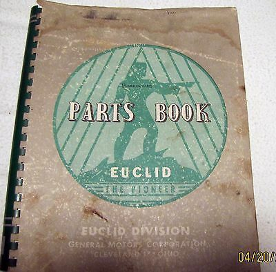 Euclid Model 8 Td Parts Manual