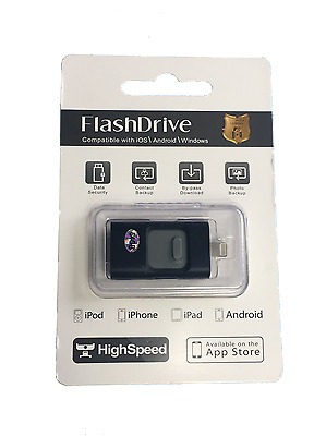 64/256 Gb Memory Stick & External Storage For Apple™ iPhone/iPad & Android