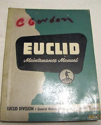 Euclid Td Maintenance Manual