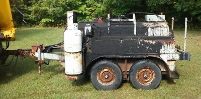 Used Asphalt / Road / Roofing Tar Kettle Tandem Axle Trailer