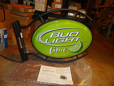 Anheuser-Busch, Bud Light Lime, Two Side Sign, Model#p1.004.00.00.00-10Ps, New