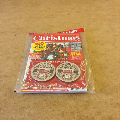 The Christmas Mag 2017 Baking & Crafting Mags Colouring Book Festive Coasters