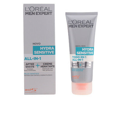 Cosmética L'Oreal Make Up hombre MEN EXPERT hydra sensitive all in one 75 ml