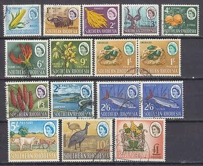 Southern Rhodesia 1964 Definitive Issue - Used