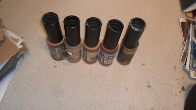 5 very good  2 minute phonograph cylinders in various boxes