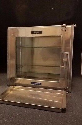 Boekel-Fisher Scientific Stainless Steel glass cabinet/ Desiccator dry box-Clean