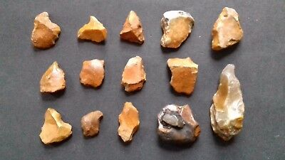 Lower Palaeolithic - Acheulean tool collection..  Rare UK c.  350,000BP