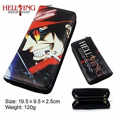 DIY YOUR WORLD Anime Hellsing Cut Cartoon unisex Wallet Girl Boy Students Long