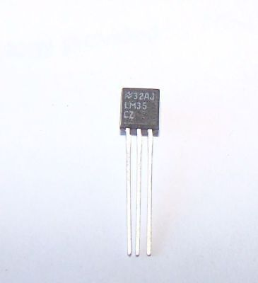 1 pc, LM35 LM35CZ degrees Celsius Temperature Sensor by NS 1C2b.