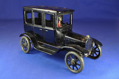 Blechauto / Wind-up Tin Car: BING Ford T Coupe, Vorkrieg / prewar, ca. 1925