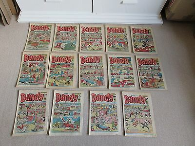 Dandy Comics-1982  X 14 -Like Beano