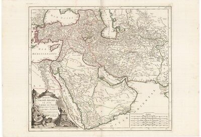 TÜRKEY ARABIAN PENINSULA TURKEY MIDDLE EAST Remondini 1778 KARTE MAP ORIGINAL