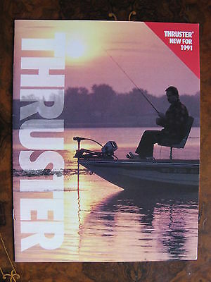 Thruster 1991 Outboard Motor Caalogue