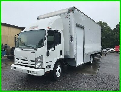 2012 Isuzu NPR HD 20 Foot Box, Large Aluminum Lift Gate Used