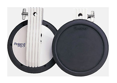Roland PD-7 Dual Trigger Pads Excellent V Drums Electronic percussion pad pd7