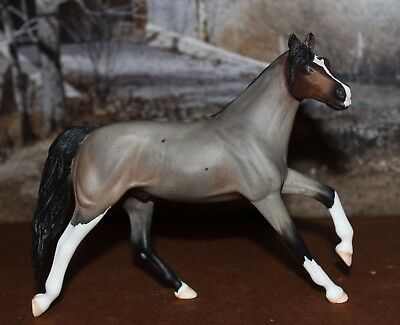Custom Peter Stone Horse Pebbles to Bay Roan w/Corn Spots by RP 2004