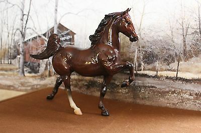 "OF Breyer Traditional Glossy 5 Gaiter American Saddlebred ""CH Imperato ""1994-95"