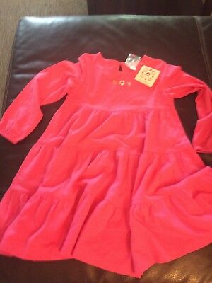 Hanna Andersson Girls Long Sleeve Dress Size 120 6 7 8 Nwt New