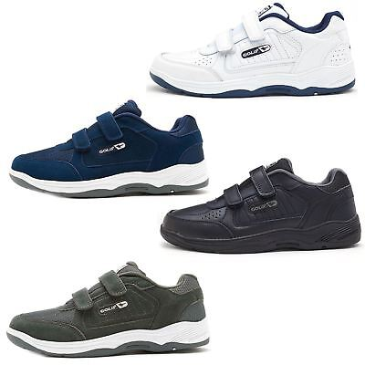 7a72604032579c Gola Active Belmont Twin Strap   Lace Up Wide Fit Trainers Black White Grey  Blue