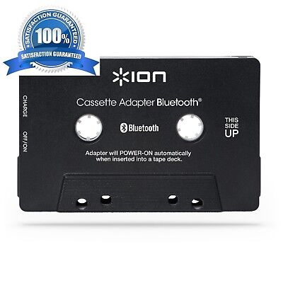 ION Audio Bluetooth Cassette Adapter Bluetooth Audio Streaming for Cassette Play