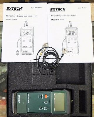 Extech 407860 Heavy Duty Vibration Meter The best used condition item available
