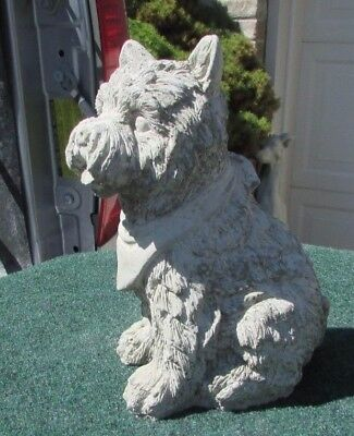 Concrete Terrier Dog Statue Or Use As A Monument