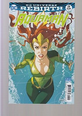 Aquaman #28 - Middleton Mera Variant Cover - 2017