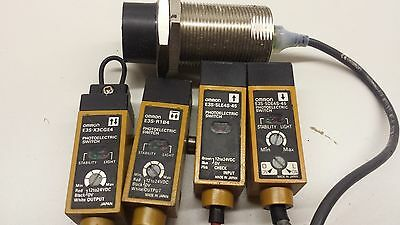 Omron Photoelectric Switch Sensors
