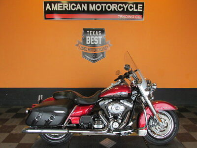Harley-Davidson Road King  2013 Harley-Davidson Road King Classic - FLHRC - Ember Red Sunglo /Merlot Sunglo
