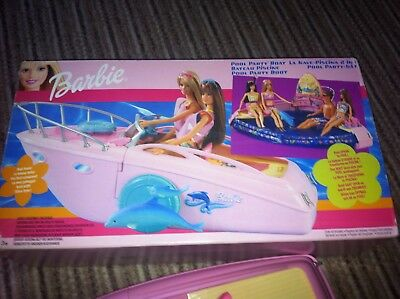 Barbie Pool Party Boat Boxed