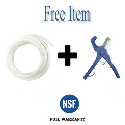 """1"""" x 100 Ft Pex Pipe Tubing Pex-B For Potable Water, Non-Barrier White + 2 ITEMS"""
