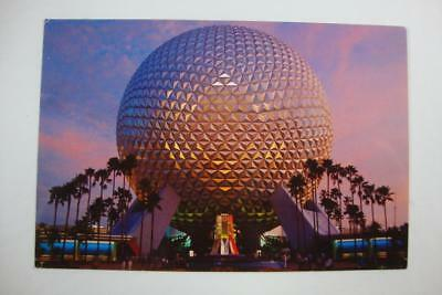 "582) Walt Disney World's Epcot Center ""spaceship Earth"" A 18 Story Geosphere"