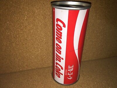 Coca Cola coke can Japan steel