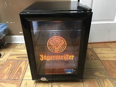 Brand New Jager Jagermeister Counter Top Freezer Fridge Refrigerator LED Lighted