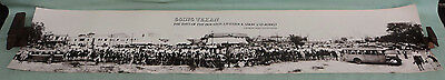 Vintage Panoramic View Houston Livestock Show & Rodeo 1930 SW Rodeo Championship