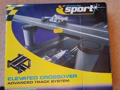 Scalextric Sport C8295 Elevated Crossover - Advanced Track System Used