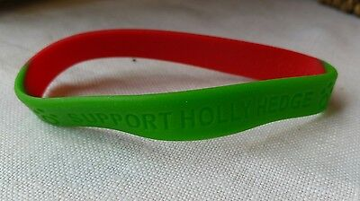 Official Holly Hedge Animal Sanctuary Charity Wristband