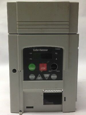 Cutler Hammer AF91AGO C005D Variable Frequency Drive G1005CGODA Used 082GT12391
