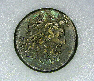 Ptolemy III / Euergetes / AE 35mm / 247-221 BC / Ancient Egypt