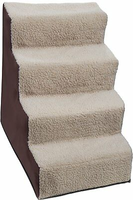 Paws & Pals Dog Stairs to get on High Bed for Cat and Pet Steps at Home or Up to