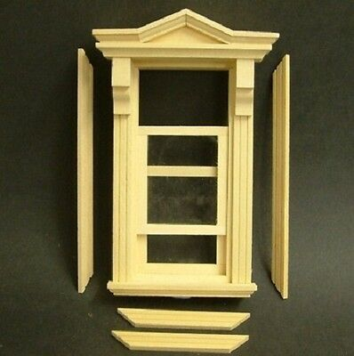 1/12th Victorian Double Hung Working Window