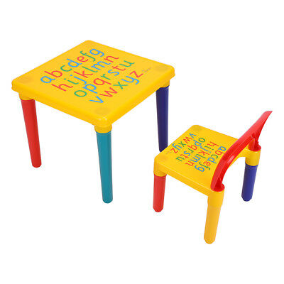 Kids Table and Chairs Play Set Toddler Child Toy Activity Furniture Playroom US