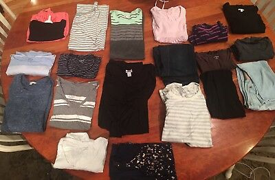 Lot of Maternity Clothes Small, 19 Pieces, GAP, Motherhood Maternity
